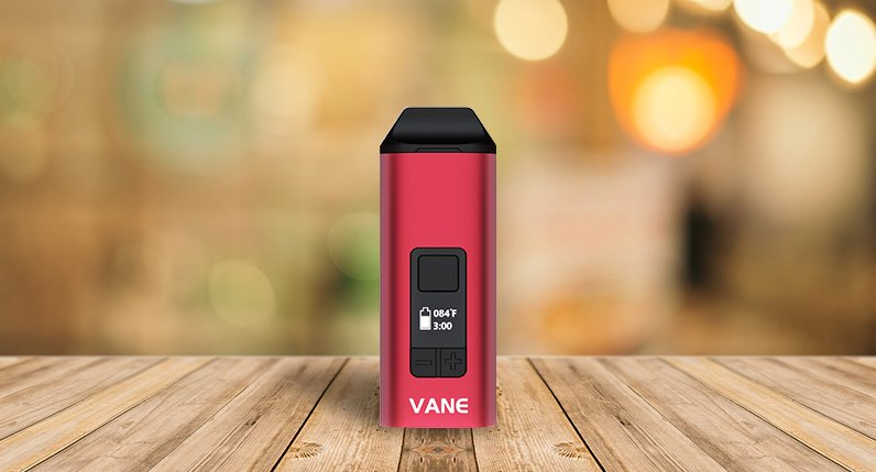 Yocan Vane standing on table front view