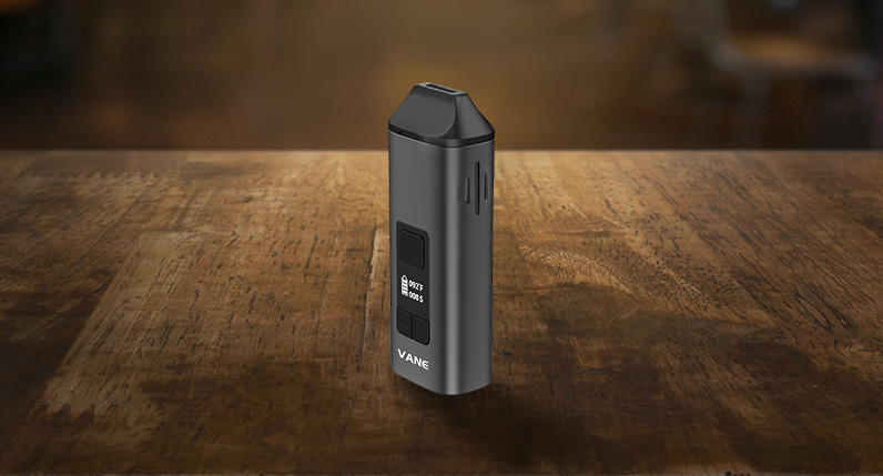Yocan Vane standing on table side view