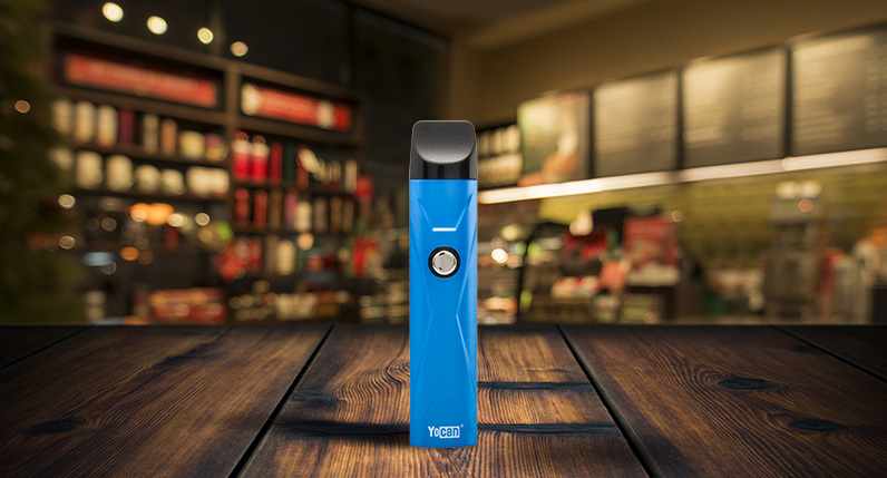 Yocan X standing on table